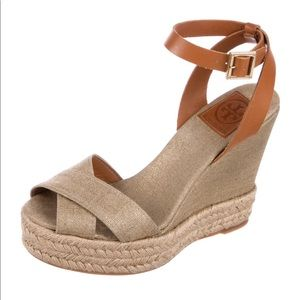 Tory Burch wedges !PRICE DROP!